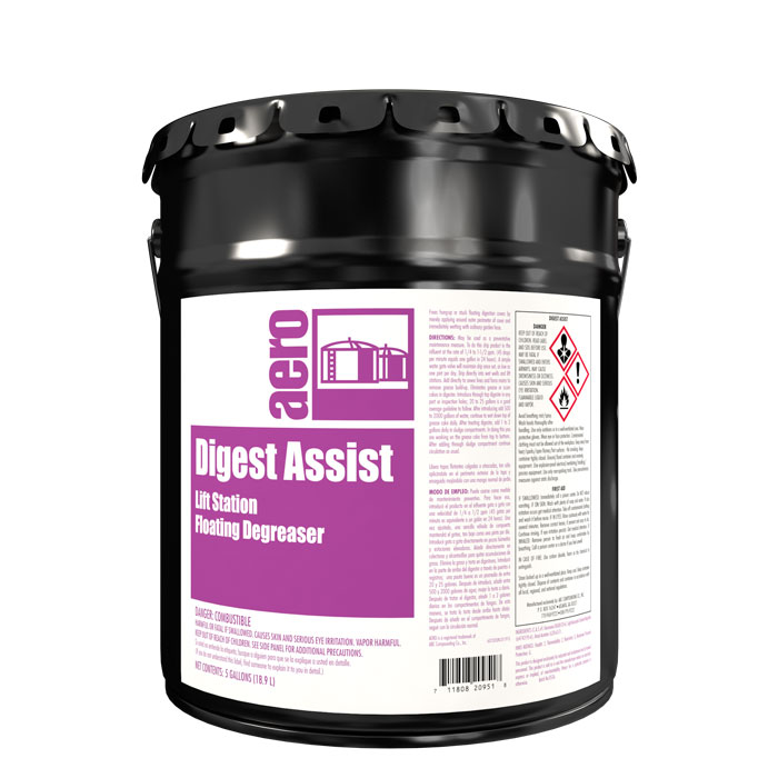 DIGEST ASSIST  5 GAL PAIL