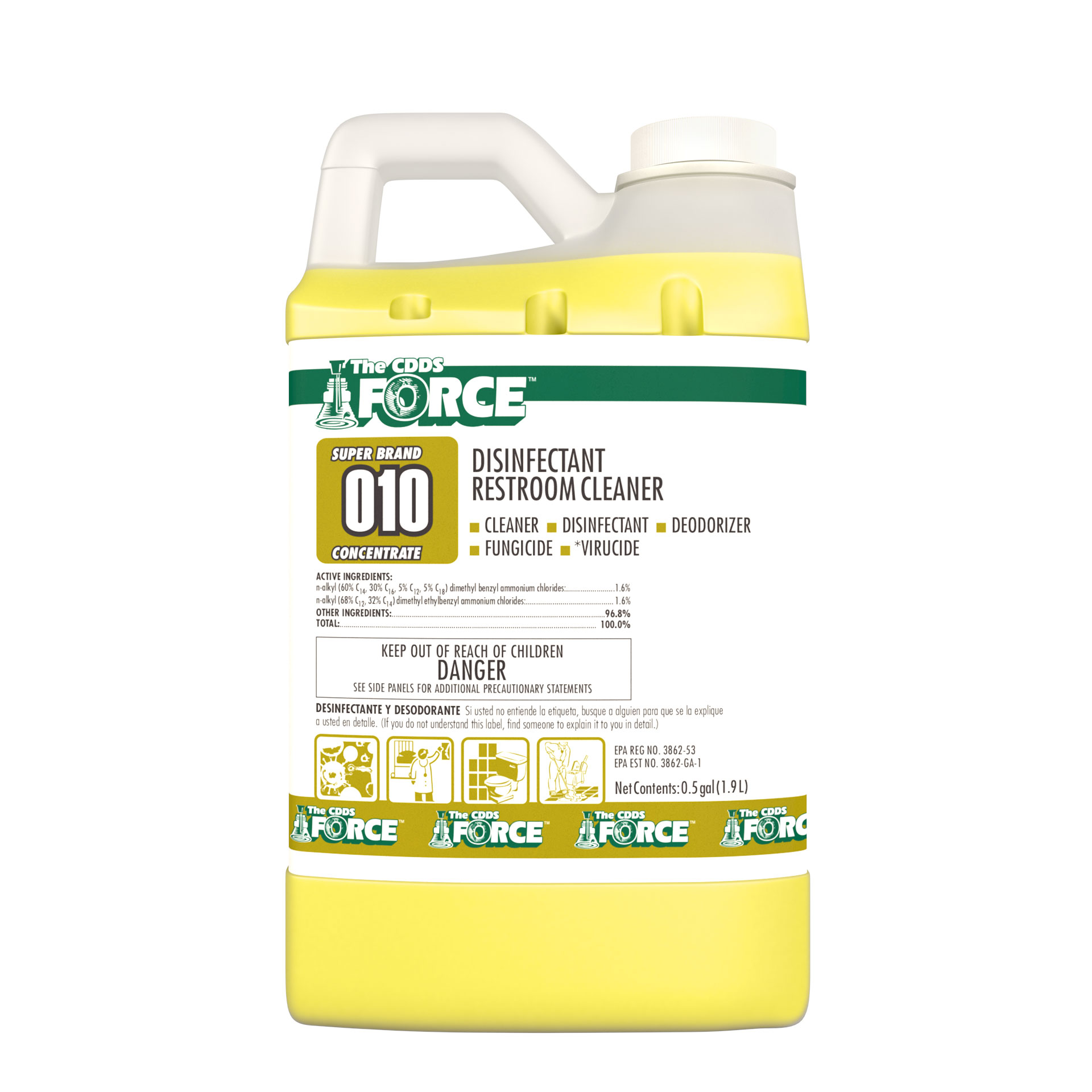010 THE CDDS FORCE DISINFECT
