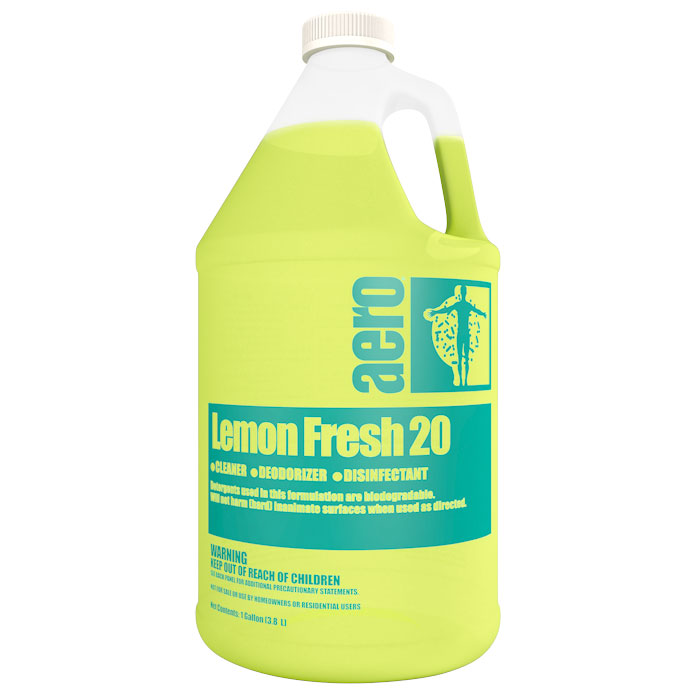 LEMON FRESH 20  4-1 GAL CASE