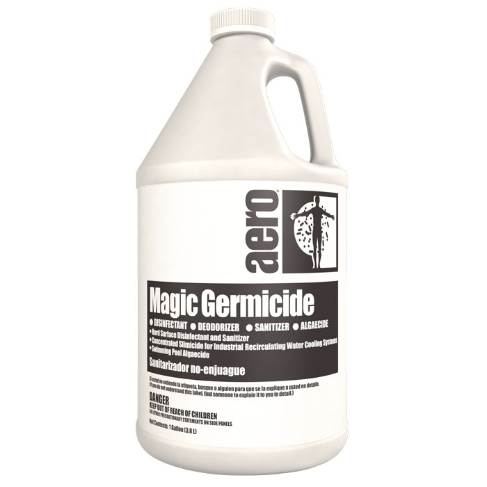 MAGIC GERMICIDE  4-1 GAL CAS