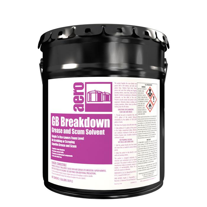 G.B. BREAKDOWN  5 GAL PAIL