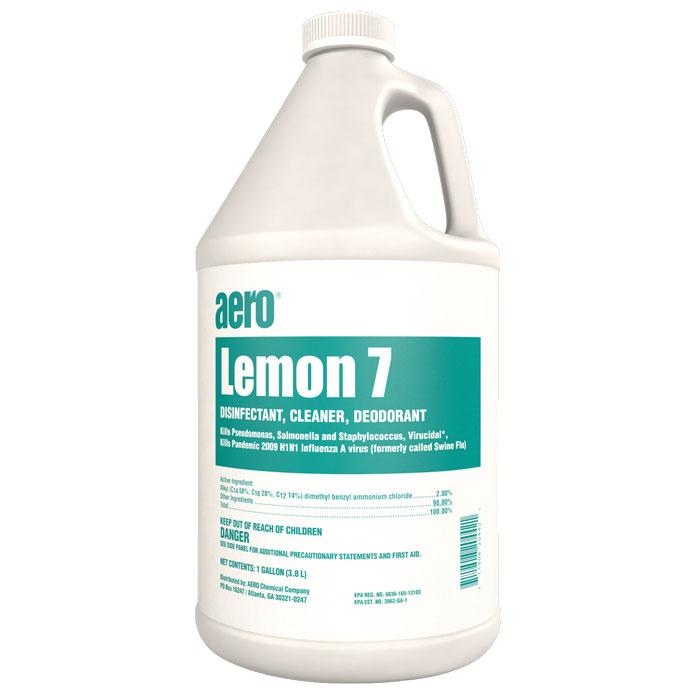 LEMON 7  4-1 GAL CASE