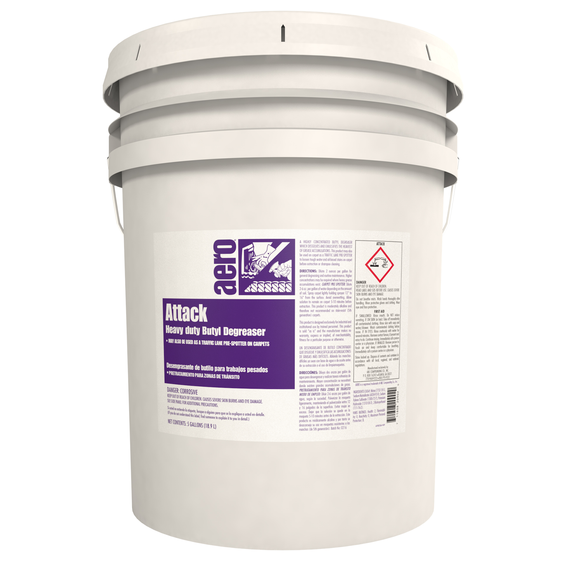 ATTACK  5 GAL PAIL