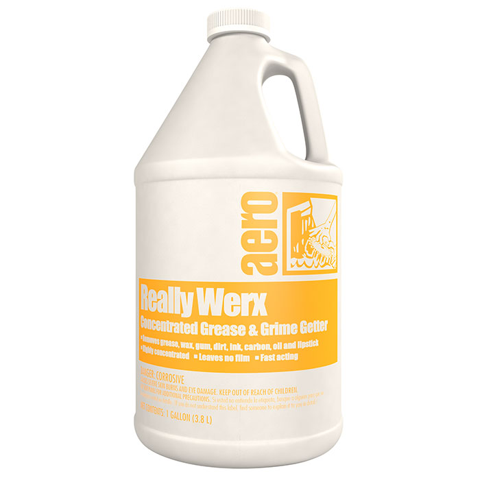 REALLY WERX  4-1 GAL CASE