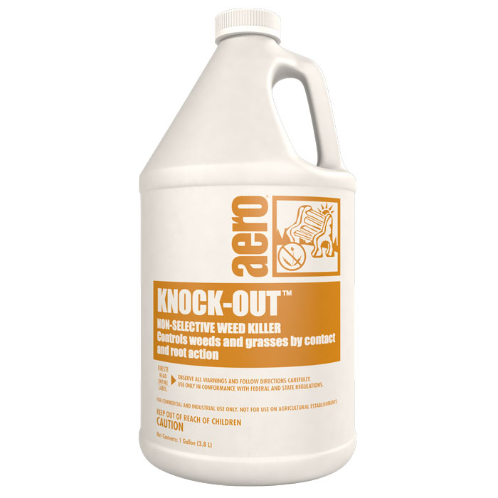 KNOCK OUT  4-1 GAL CASE