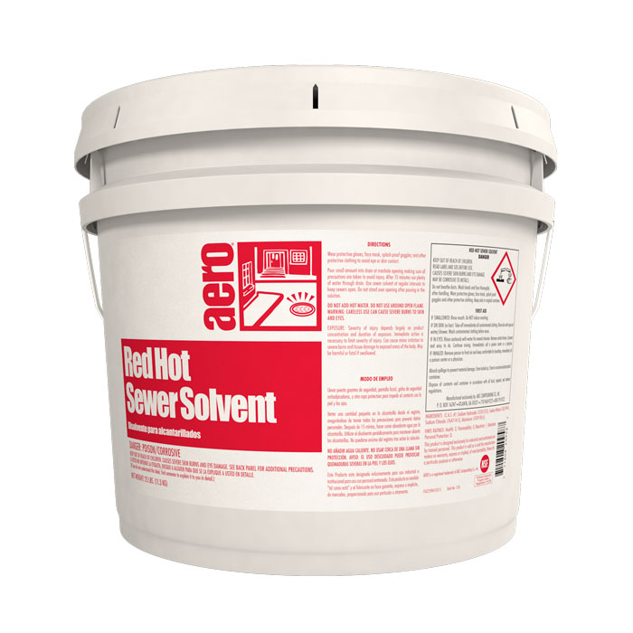 RED HOT SEWER SOLVENT   25 L